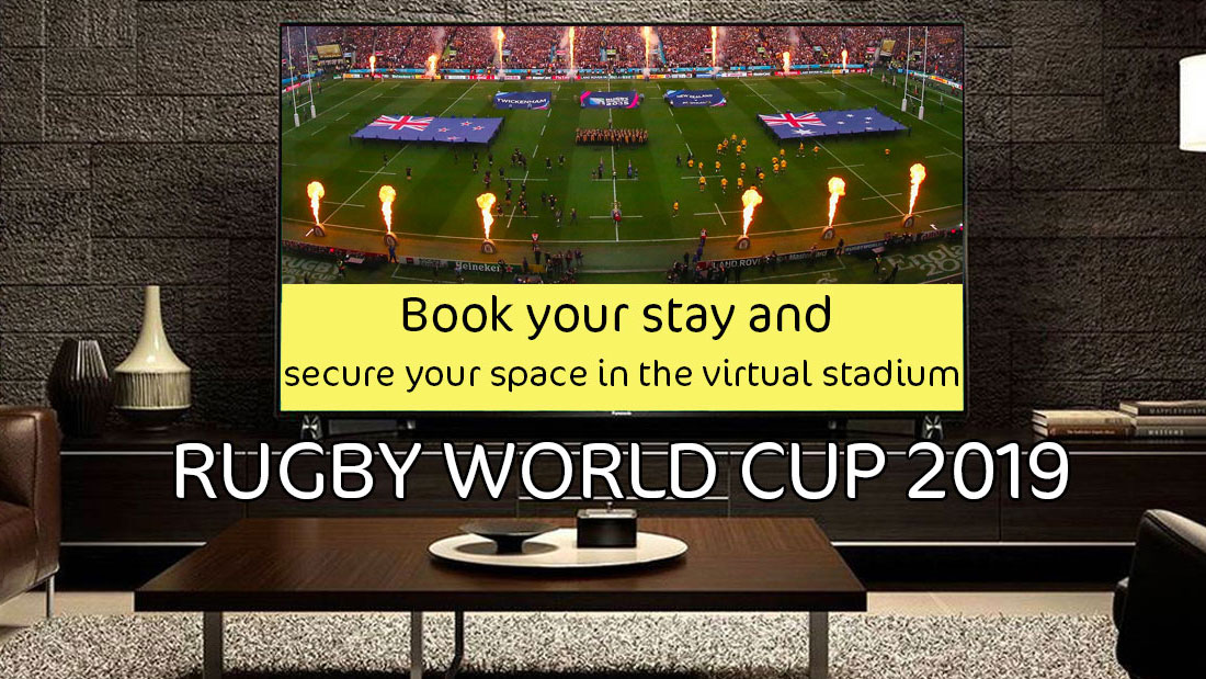 Rugby matches comes Free with your stay!